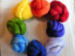 Color Wheel of Wool
