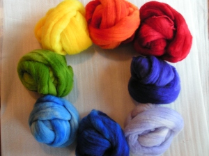Color Wheel of Wool