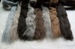 Natural Wool Tops