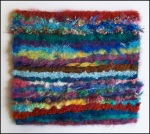 Needlefelted Fancy fibres