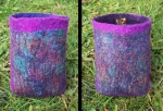Nuno felted camera case