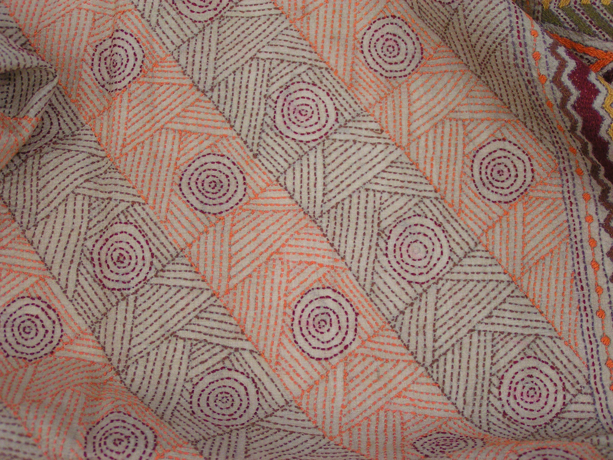 Kantha Embroidery Feltingandfiberstudio