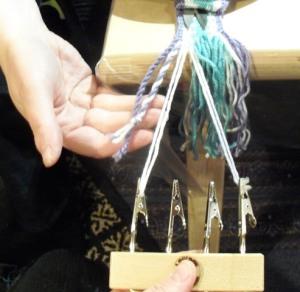 twisting the fringe