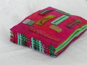 Hand Stitch Sample Book