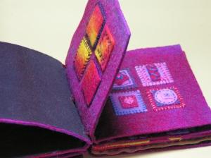 Applique Felt Book with Hand Stitching