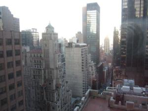 View of NYC from Waldorf-Astoria