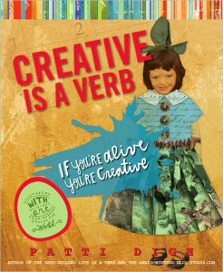 Creative is a verb cover