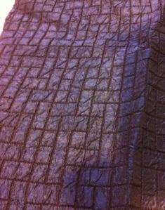 silk jacket right side