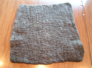 Yurt Felt Sample