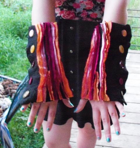 Ann's fingerless mitts