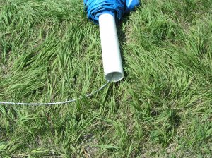 Cable through PVC Pipe to Tow