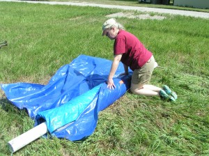 Outer Tarp for Protection