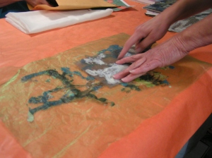 fabric paper lamination