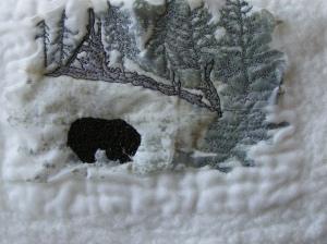 Stitched Bear