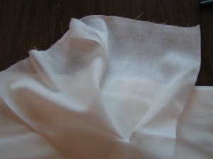 Closer View of Cheese Cloth