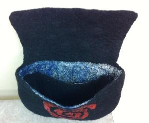 black bag finnished inside