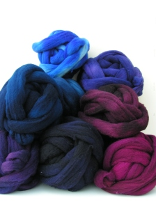 A Large Pile of Dyed Wool