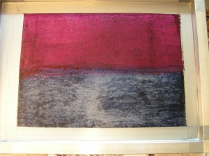 Dye in Silk Screen
