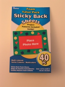 Foam Sticky Back Sheets