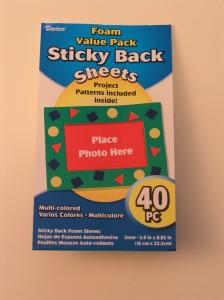 Foam Sticky Back Sheets