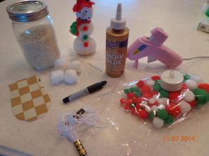 Frances Snowman Supplies