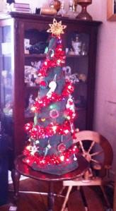 big tree decorated