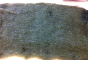 green wool blended