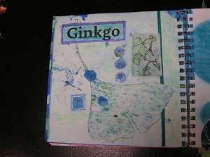 Ginkgo Leaf Page