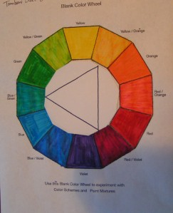 Equilateral Triad - Yellow/Orange, Red/Violet, Blue/Green