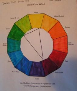Isosceles Triad - Red/Violet, Green, Yellow