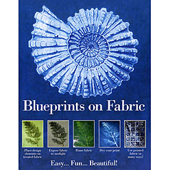 blueprints on fabric