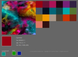 F colour palette fx