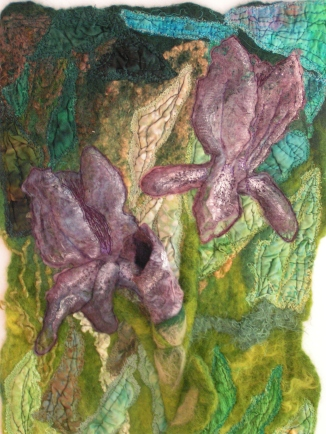 Online Course Embellishing Felt with Surface Design Techniques - A Mixed Media Approach by Ruth Lane