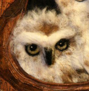 Owl Detail by Karen Straight
