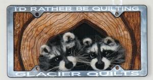 Raccoons by Karen Straight