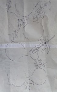Tracing of Pomegranates