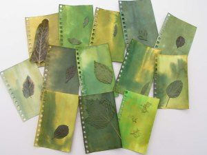 Pages with Leaves