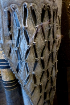 Detail, Man's Embroidered Wool Felt Costume, Afghanistan, Kunstkamera, St Petersburg