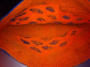 neddle felted inside