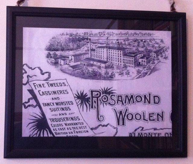 rosmond mill sign