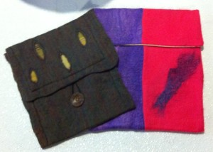 05 scarfes turned into bags for ipads and e-readers
