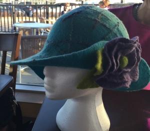 turquise hat 1