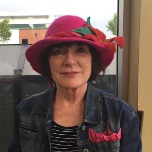 rebeca in hat