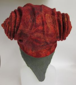 Felted Snail Hat by Teri Berry