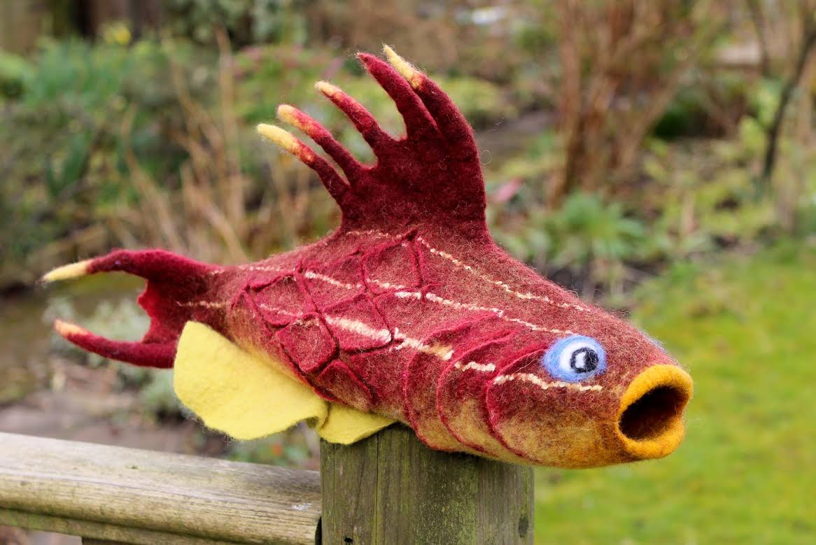 Online Felting Fantasy Fish Class With Galina Titova In October