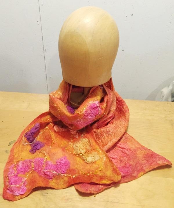 orange scarf 2