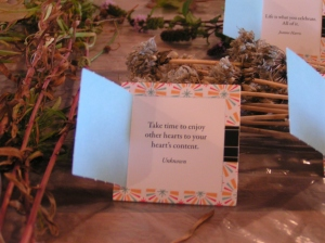 Cards from the Florist