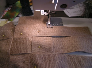 Stitching the Bottom Together