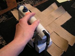Ironing Folded Edge