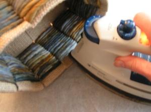Ironing Folded Top Edges